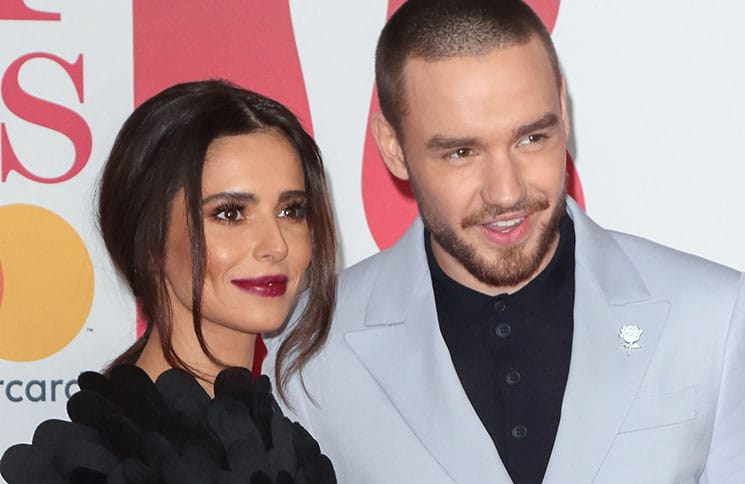 Cheryl Ann Tweedy and Liam Payne - BRIT Awards 2018