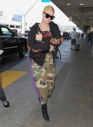 Iggy Azaleas Sighted at LAX Airport in Los Angeles on October 16, 2017