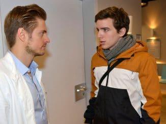 Philip (Jörn Schlönvoigt, l.), Luis (Maximilian Braun) Gute Zeiten, schlechte Zeiten