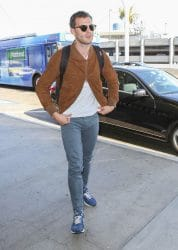Jamie Dornan Sighted at LAX Airport on August 17, 2017