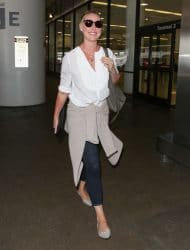 Katherine Heigl Sighted at LAX Airport on July 10, 2017