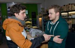 Luis (Maximilian Braun, l.), Jonas (Felix van Deventer) Gute Zeiten, schlechte Zeiten