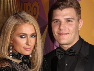 Paris Hilton, Chris Zylka - HBO's Official 75th Annual Golden Globe Awards After Party