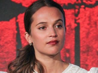 "Alicia Vikander - ""Tomb Raider"" Los Angeles Press Conference"