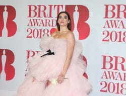 Dua Lipa - BRIT Awards 2018