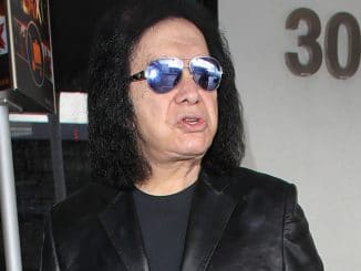 Gene Simmons Sighted at LAX Airport in Los Angeles on January 9, 2018