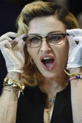 Madonna MDNA Skin Launch Barneys New York Madison Avenue