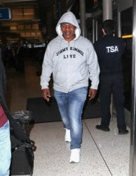 Mike Tyson Sighted at LAX Airport in Los Angeles on February 22, 2018