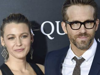 "Blake Lively & Ryan Reynolds - ""A Quiet Place"" New York City Premiere"