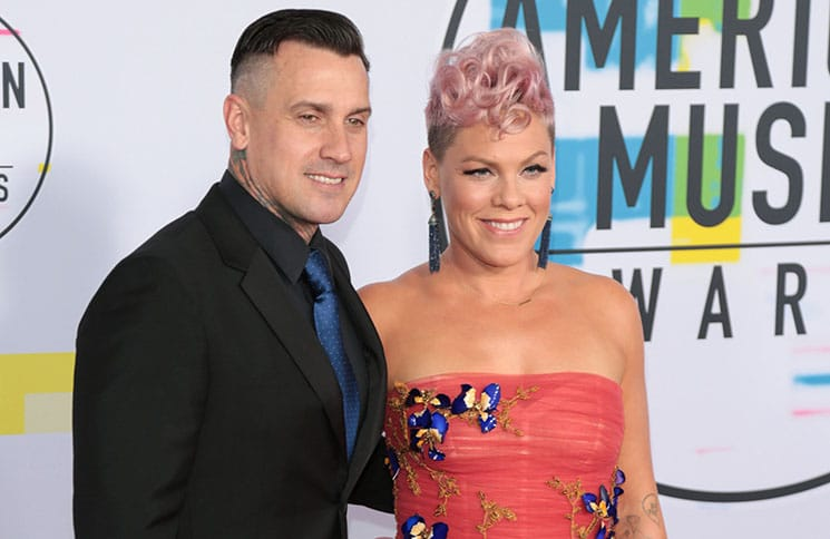 Pink and Carey Hart - 2017 American Music Awards