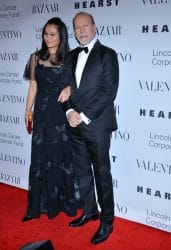 """Emma Heming and Bruce Willis - """"An Evening Honoring Valentino"""" Lincoln Center Corporate Fund Black Tie Gala"""