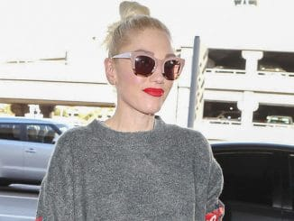 Gwen Stefani Sighted at LAX Airport in Los Angeles on November 28, 2017