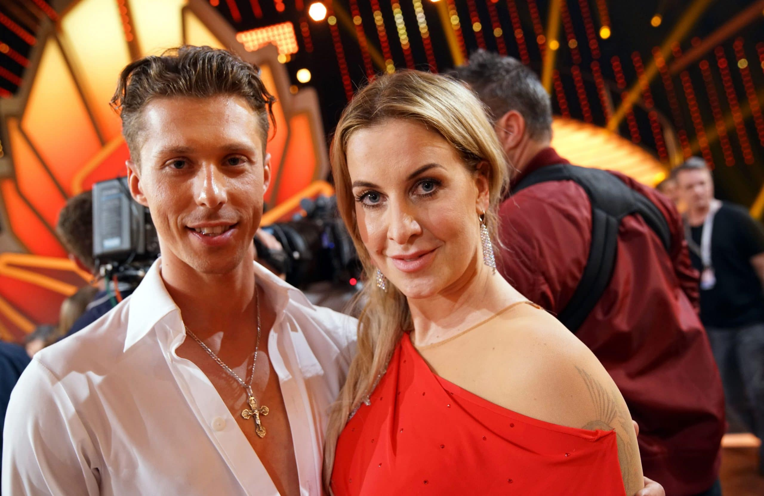 Charlotte Würdig und Valentin Lusin scheiden aus - Let's Dance