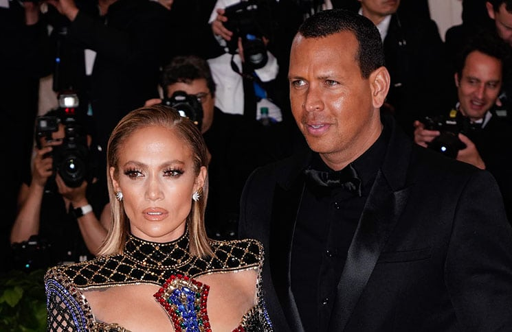 "Jennifer Lopez, Alex Rodriguez - ""Heavenly Bodies: Fashion & The Catholic Imagination"" Costume Institute Gala"