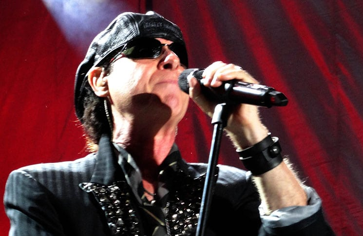 """Klaus Meine - The Scorpions """"Final Sting Tour 2012"""" at Charter One Pavilion - July 7, 2012"""