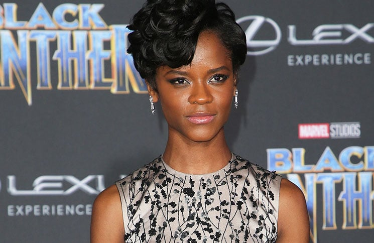 "Letitia Wright - Disney and Marvel's ""Black Panther"" World Premiere"