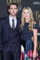 """Matthew Lewis and Angela Jones - """"Beauty And The Beast"""" Los Angeles Premiere"""