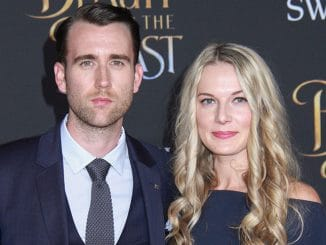 "Matthew Lewis and Angela Jones - ""Beauty And The Beast"" Los Angeles Premiere"