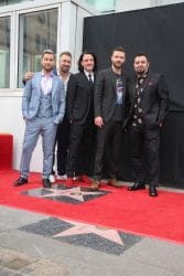 NSYNC Honored with a Star on the Hollywood Walk of Fame