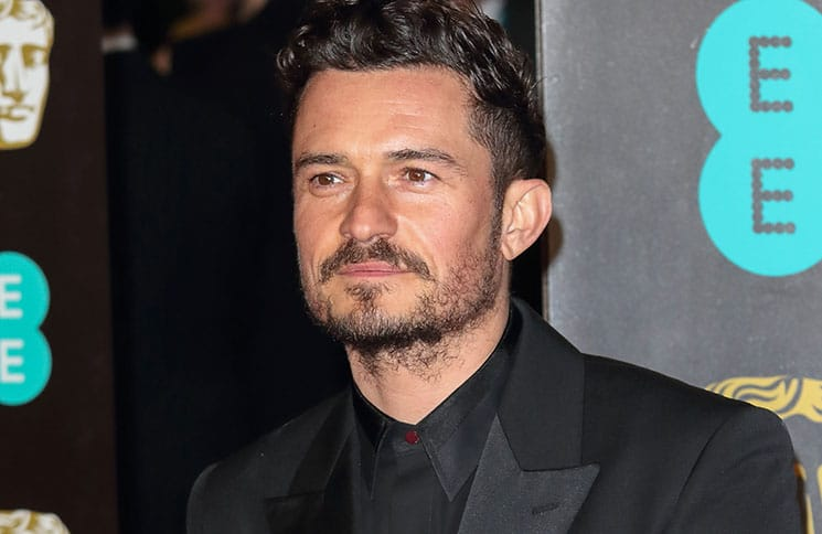 Orlando Bloom - 71st Annual EE British Academy Film Awards