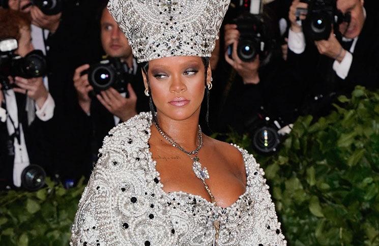 "Rihanna - ""Heavenly Bodies: Fashion & The Catholic Imagination"" Costume Institute Gala"