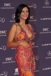 Verona Pooth - 2005 Laureus World Sports Award