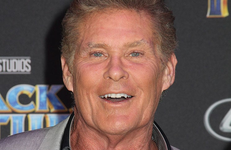 "David Hasselhoff - Disney and Marvel's ""Black Panther"" World Premiere"