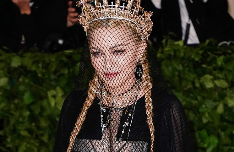 "Madonna - ""Heavenly Bodies: Fashion & The Catholic Imagination"" Costume Institute Gala"
