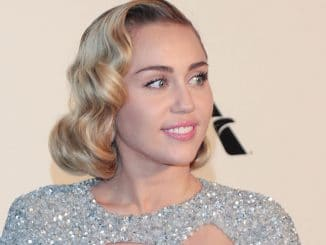 Miley Cyrus - 26th Annual Elton John AIDS Foundation's Academy Awards Viewing Party
