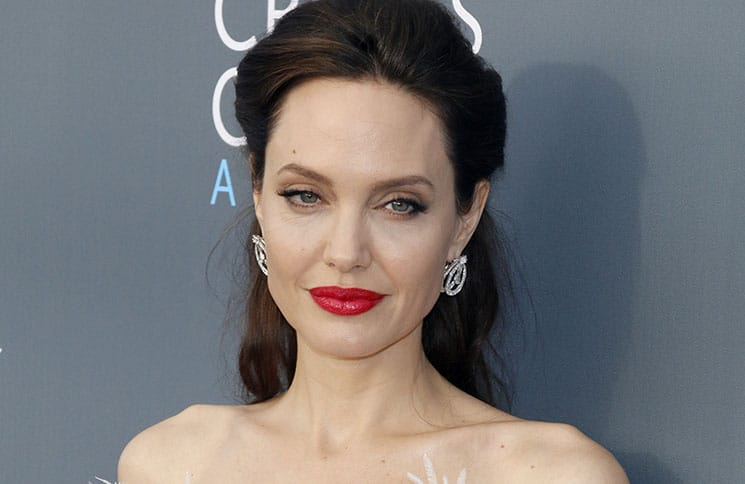 Angelina Jolie - The 23rd Annual Critics' Choice Awards