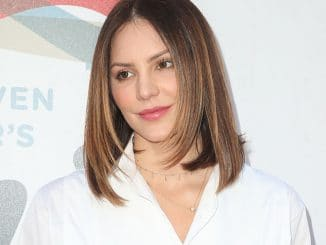 Katharine McPhee - Inaugural Janie's Fund Gala & GRAMMY Viewing Party