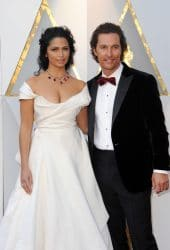 Camila Alves, Matthew McConaughey - 90th Annual Academy Awards