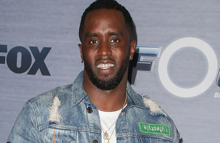 "P. Diddy - FOX's ""The Four: Battle for Stardom"" TV Series Season 1 Finale Viewing Party"