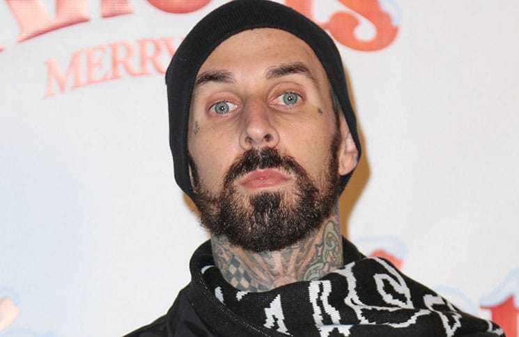 Travis Barker - 2015 Knott's Berry Farm's Countdown to Christmas and Snoopy's Merriest Tree Lighting