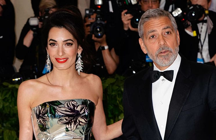 "Amal Clooney, George Clooney - ""Heavenly Bodies: Fashion & The Catholic Imagination"" Costume Institute Gala"