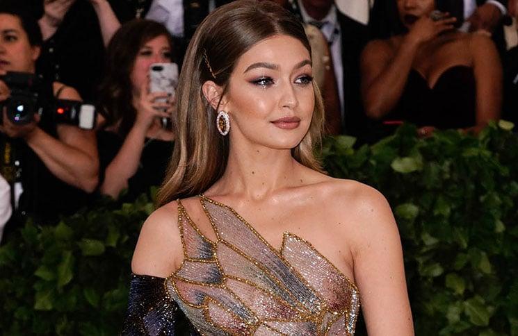 """Gigi Hadid - """"Heavenly Bodies: Fashion & The Catholic Imagination"""" Costume Institute Gala"""