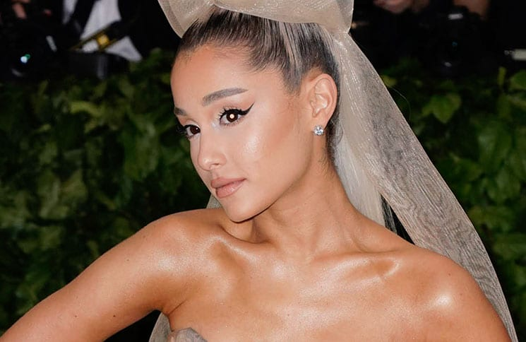 "Ariana Grande - ""Heavenly Bodies: Fashion & The Catholic Imagination"" Costume Institute Gala"