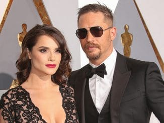 Charlotte Riley and Tom Hardy - 88th Annual Academy Awards