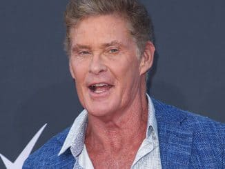 "David Hasselhoff - ""Comedy Central Roast of Bruce Willis"" - Arrivals"