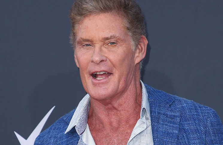 """David Hasselhoff - """"Comedy Central Roast of Bruce Willis"""" - Arrivals"""