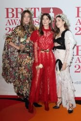 Haim - BRIT Awards 2018 - Arrivals