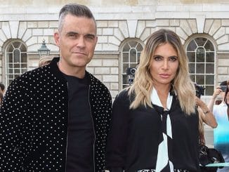 "Robbie Williams and Ayda Field - ""The X Factor"" UK Season 15 Press Launch"