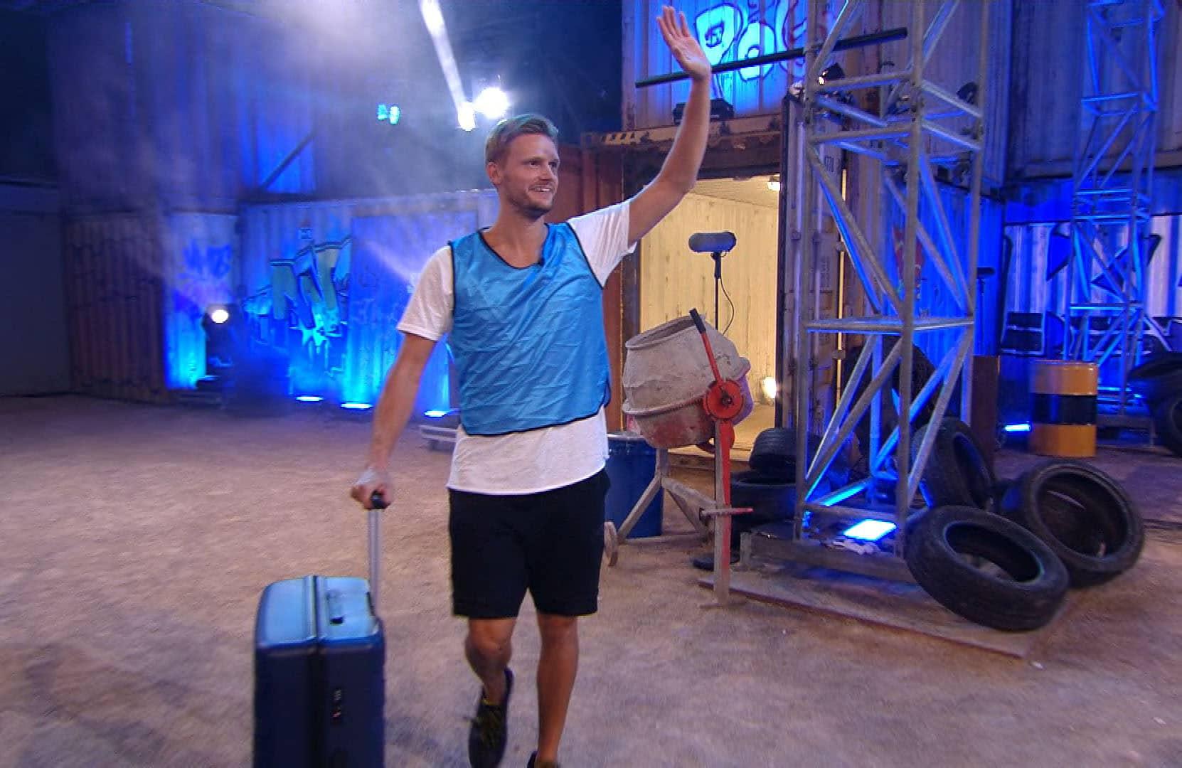 Pascal Behrenbruch zieht aus dem Haus aus.