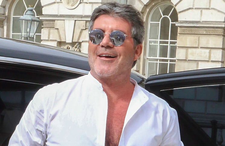 "Simon Cowell - ""The X Factor"" UK Season 15 Press Launch"