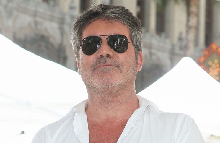 Simon Cowell Honored with a Star on the Hollywood Walk of Fame