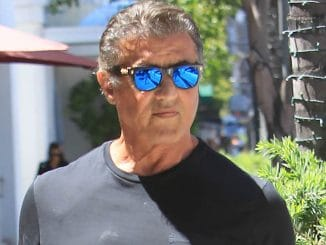 Sylvester Stallone Sighted at Lunch in Los Angeles on June 26, 2018