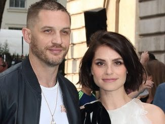 "Tom Hardy, Charlotte Riley - ""Swimming with Men"" UK Premiere"