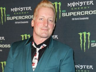 Tre Cool - Monster Energy Supercross Celebrity Night at Angel Stadium in Anaheim