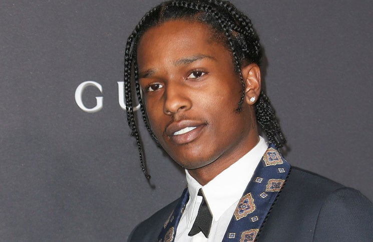 ASAP Rocky - 2016 LACMA Art + Film Gala Honoring Robert Irwin and Kathryn Bigelow Presented by Gucci
