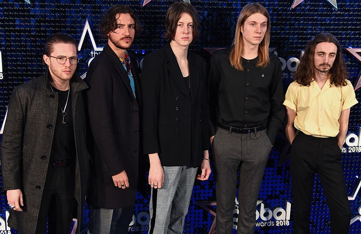 Blossoms - The Global Awards 2018 - Arrivals